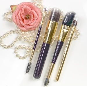 Tarte cosmetics 4pcs makeup brushes